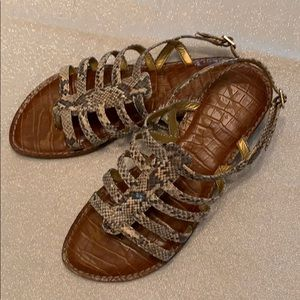 Sam Edelman Caged Thong Sandal
